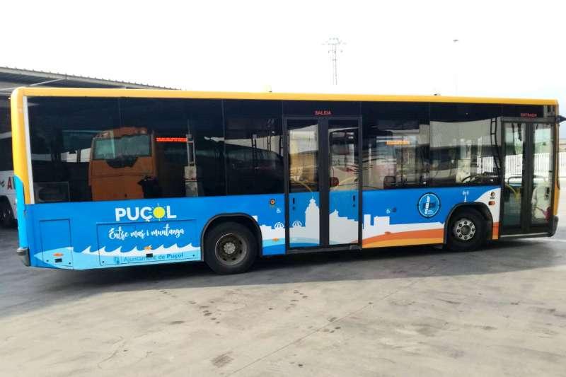 Nuevo diseño del autobús de Puçol. EPDA