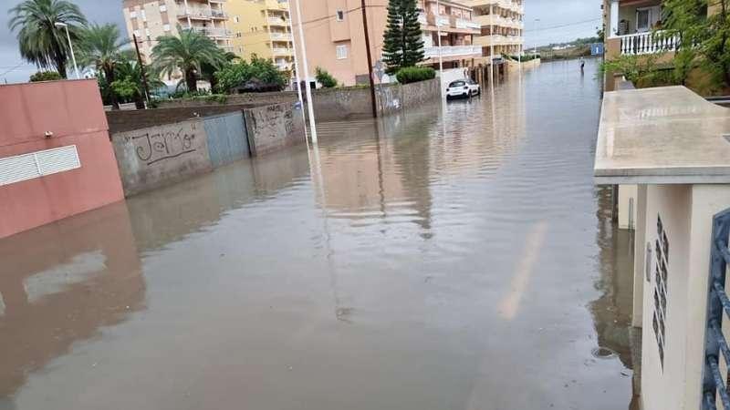 Lluvia/Ayuntamiento de Moncofa