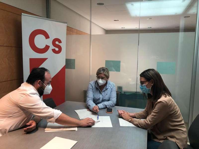 Reunión de Ciudadanos en Vilamarxant. / EPDA