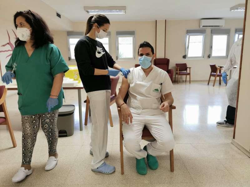 Vacunació Carcaixent./EPDA