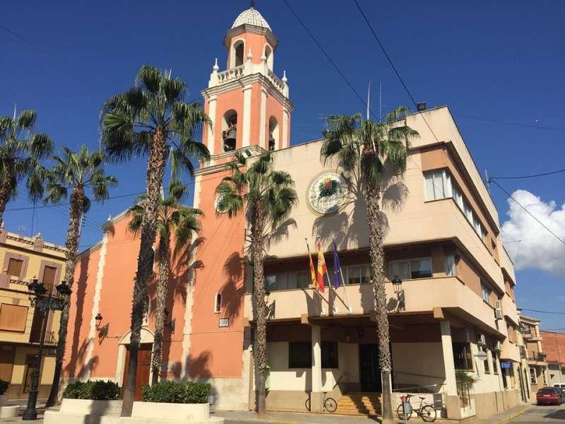 Dependencias municipales de Càrcer. EPDA