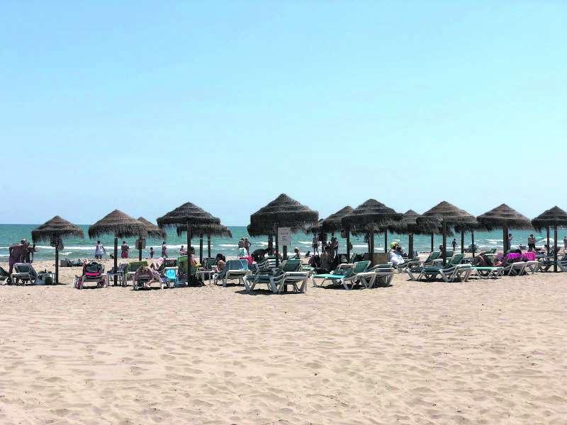 Playa de La Patacona de Alboraya. EPDA
