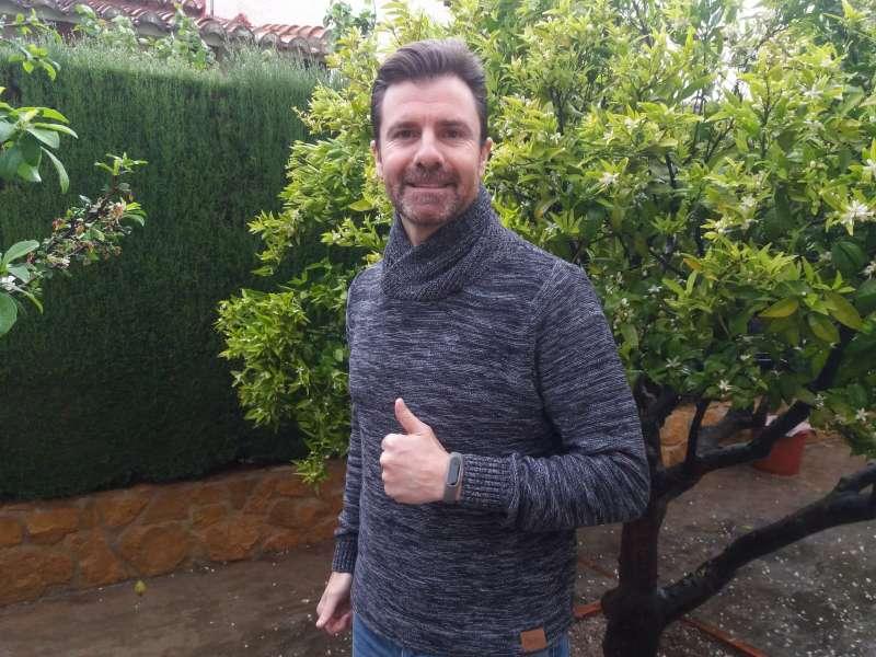Luis Tomás, miembro del Partido Popular y parte de la lista electoral de los populares en las elecciones municipales./epda