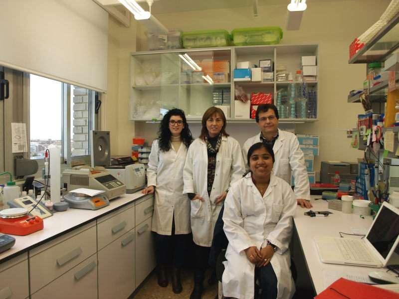 Investigadores del grupo de genómica traslacional, del Instituto de Investigación Sanitaria del Hospital Clínico INCLIVA y de la Universitat de València