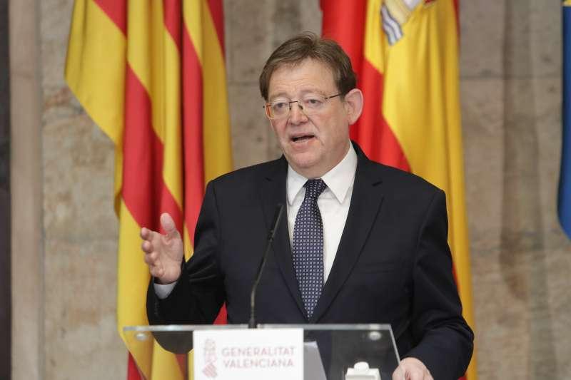 Rueda de prensa Ximo Puig