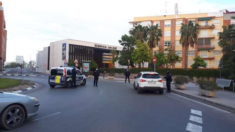 Policía Local de Burjassot. EPDA