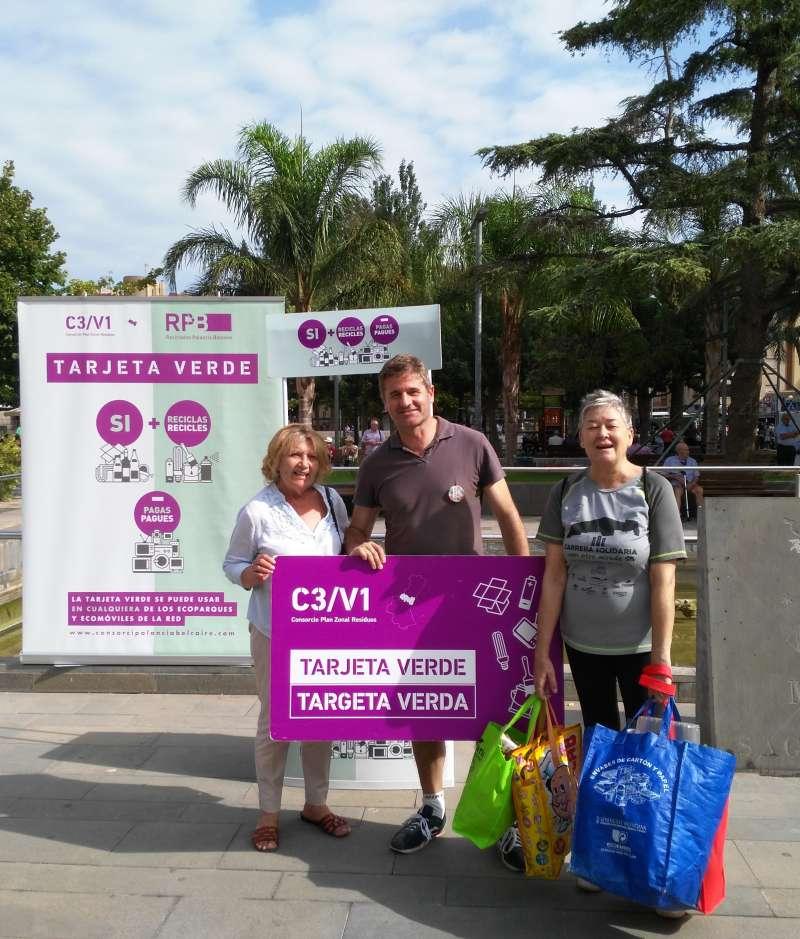 Campaña de la Tarjeta Verde del Consorcio Palancia Belcaire. EPDA