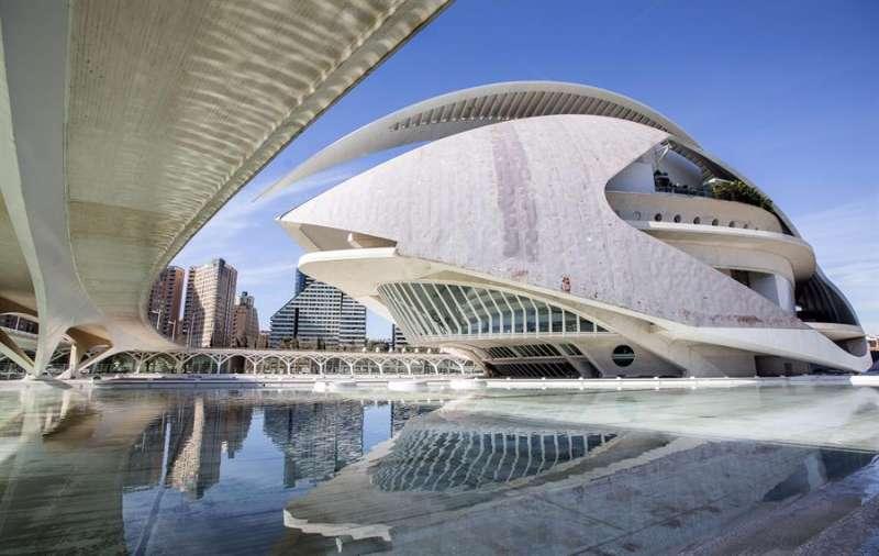 Imagen de archivo del Palau de les Arts. EFE/Manuel Bruque/Archivo