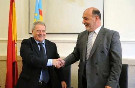 Alfonso Rus y Filibert Prats. Foto EPDA