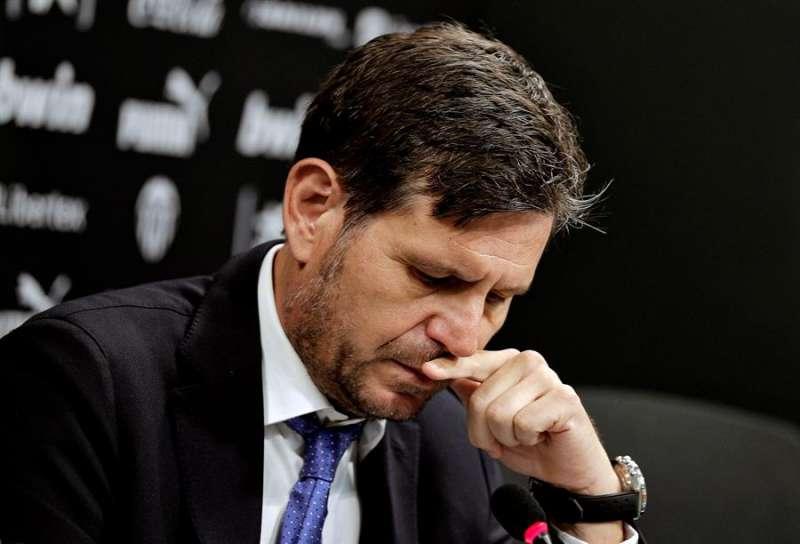 El hasta ahora director general del Valencia, Mateu Alemany. EFE/Manuel Bruque/Archivo