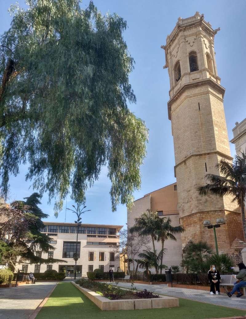 Campanar i Ajuntament de Borriana/EPDA