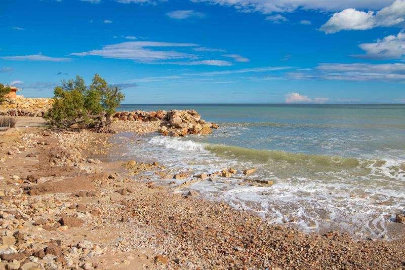 La playa del Brosquil, en una imagen difundida por el Ayuntamiento de Cullera.