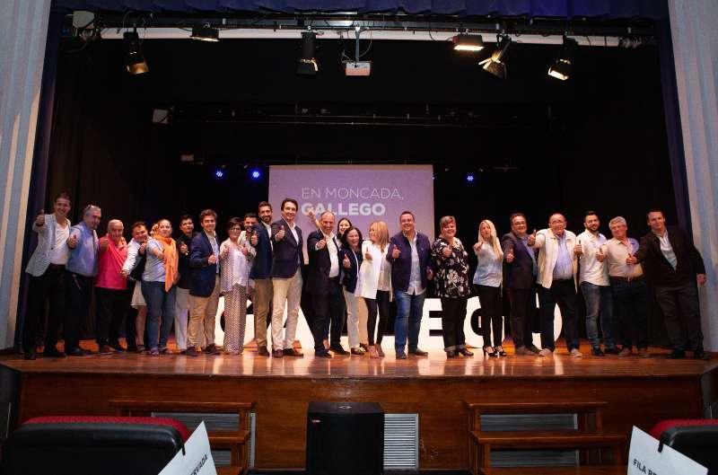Presentación de la candidatura del PP de Moncada. EPDA