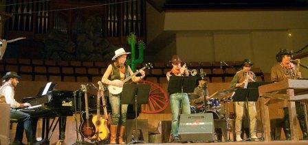 Escena de ?Los siete magníficos. El Musical del Oeste?. FOTO: EPDA