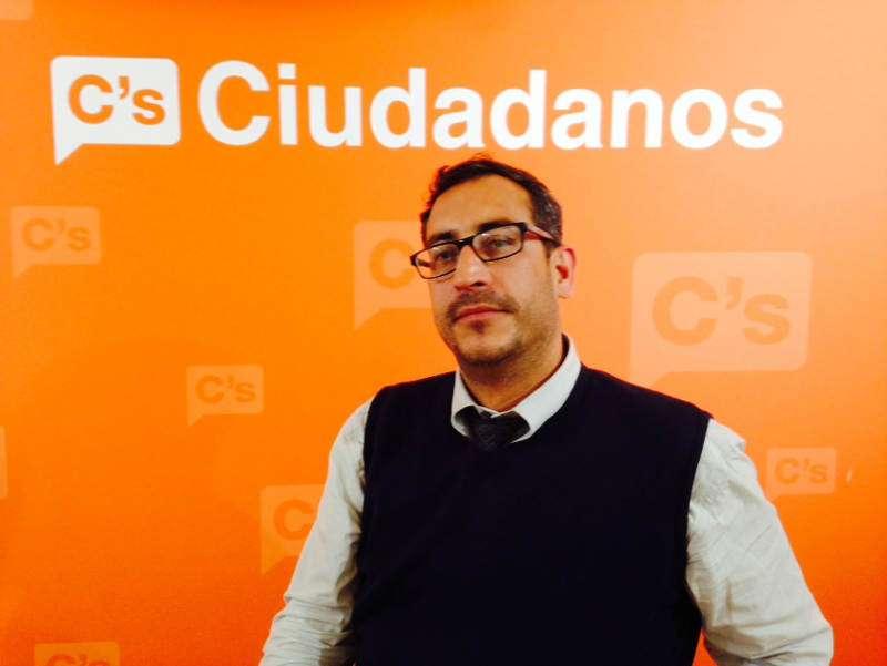 Alex Pardo durante su etapa en Ciudadanos Cs. EPDA