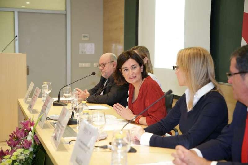 La Consellera de Sanidad Universal y Salud Pública, Carmen Montón