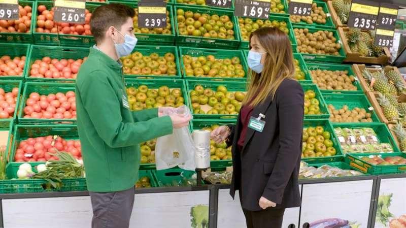 Imagen cedida por Mercadona de uno de los supermercados de la empresa. EFE.