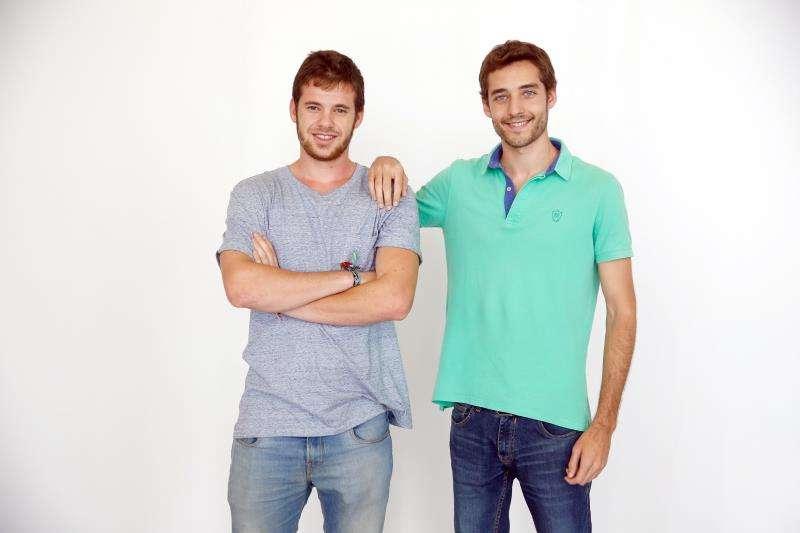 Gonzalo Ortega y Carlos Montesinos, en una imagen facilitada por la empresa. EFE