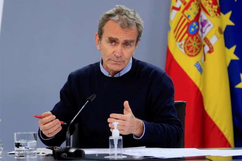 El director del Centro de Coordinación de Alertas y Emergencias Sanitarias, Fernando Simón. EFE/Fernando Alvarado/Archivo