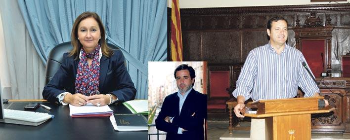 Concha Peláez y Sergio Muniesa, los preferidos, con Alfredo Castelló -en el centro- como útlima opción.