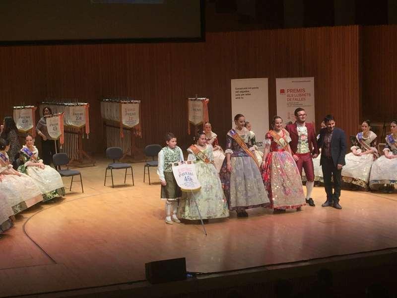 Santa Anna en els premis dels llibrets de la Generalitat. EPDA