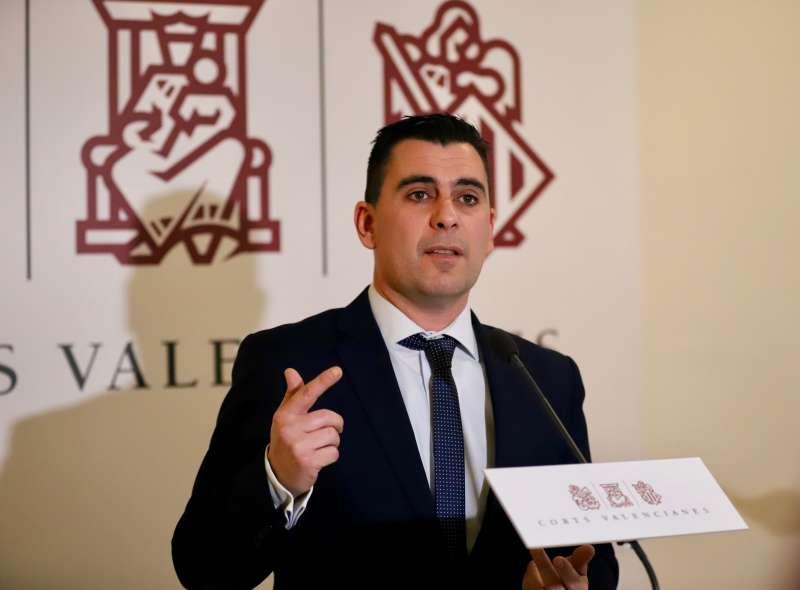 El diputado autonómico de Ciudadanos (Cs) en Les Corts Valencianes Toni Subiela. Foto Cs