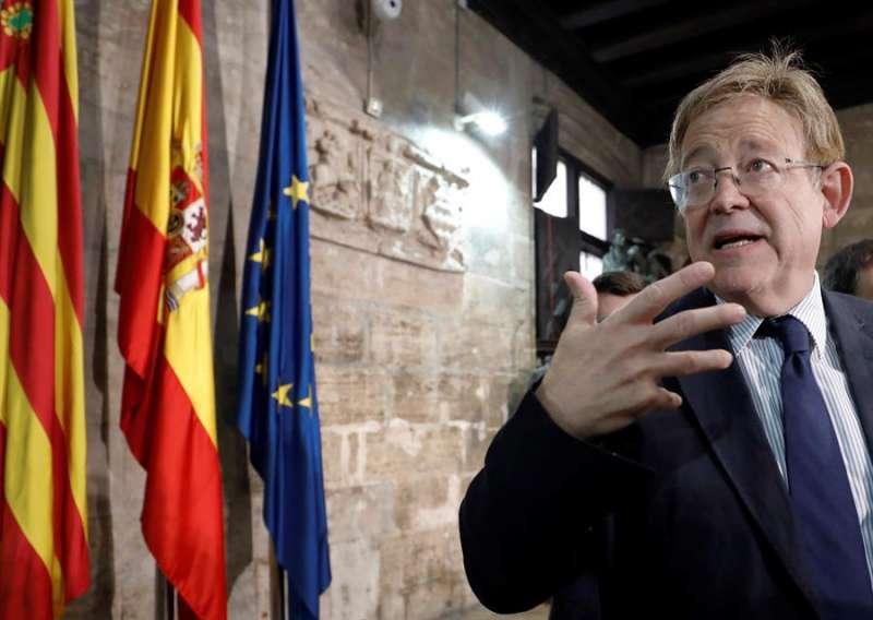 El president de la Generalitat, Ximo Puig.EFE/ Juan Carlos Cardenas