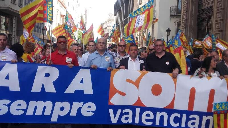 Som Valencians, en movimiento.