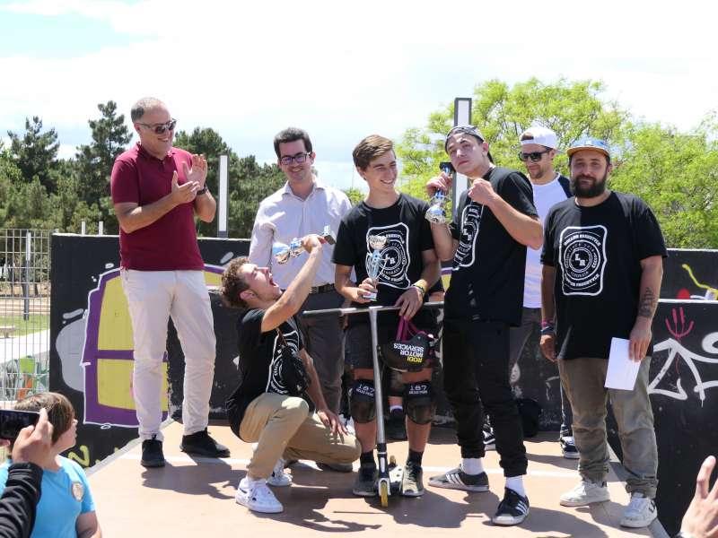 Campionat en el Skatepark. EPDA