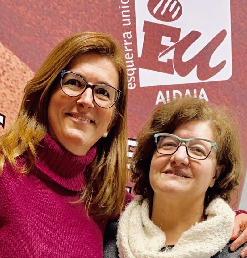Betsabé requena y Amparo López