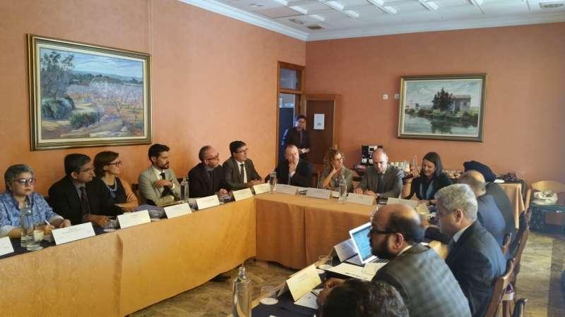 Encuentro de asociados de AVIA y empresas india en València. EPDA