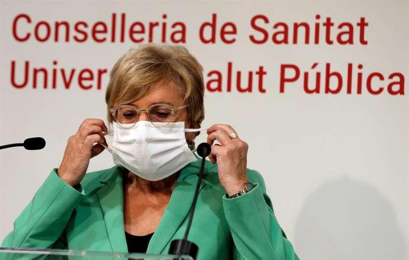 La Consellera de Sanidad de la Generalitat Valenciana, Ana Barceló. EFE