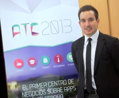 El Director del APP Trade Centre, Javier Ortizá, durante la presentación oficial del Congreso. Foto EPDA