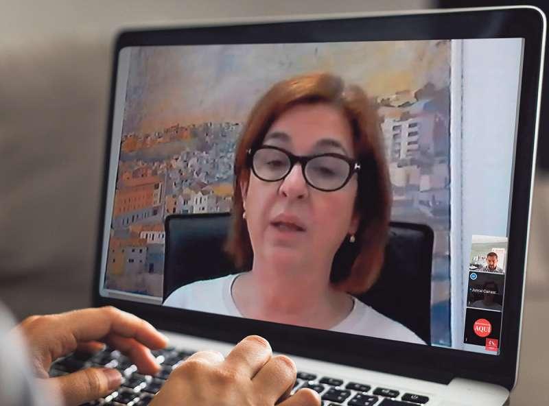 Videoconferencia con Juncal Carrascosa