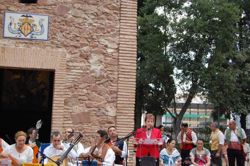 La alcaldesa de El Puig de Santa Maria. FOTO EPDA