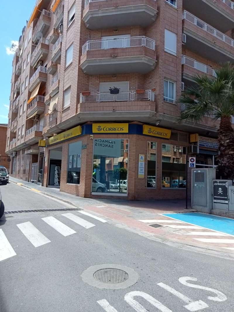 Local de Correos en Riba-roja. EPDA.