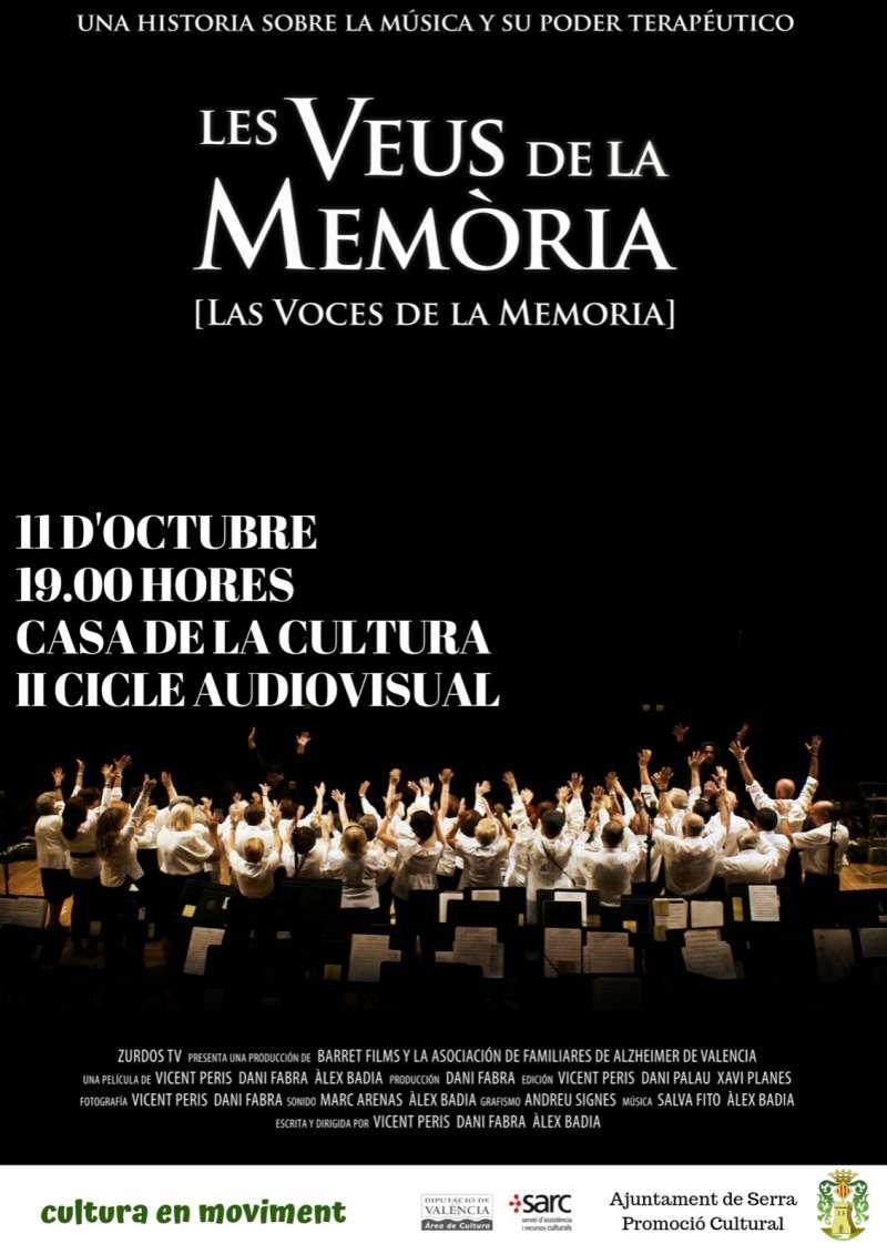 Cartell de Les veus de la Memòria./ EPDA
