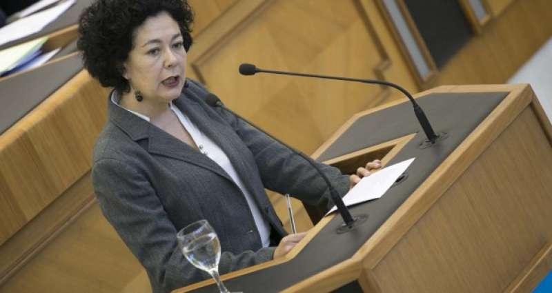 La diputada de EUPV, Raquel Pérez