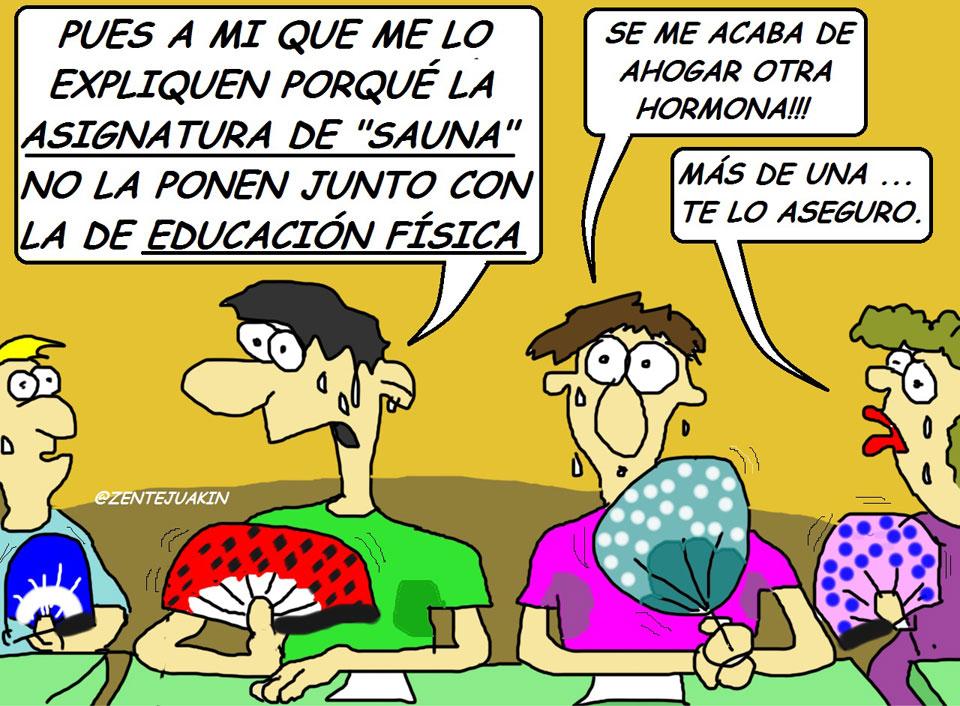 La nueva educación, una viñeta de Vicente García Nebot.