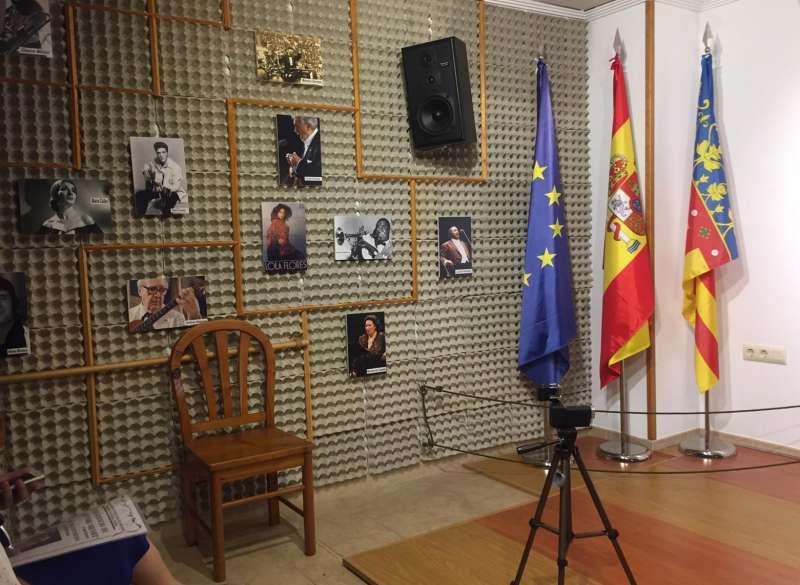 Sala del hogar del jubilado . EPDA