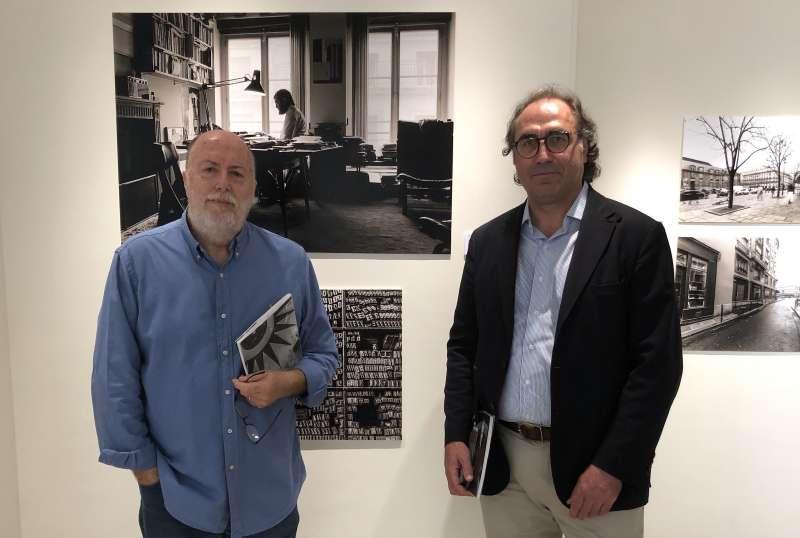Profesores del CEU con motivo de la exposición de escritores argentinos.