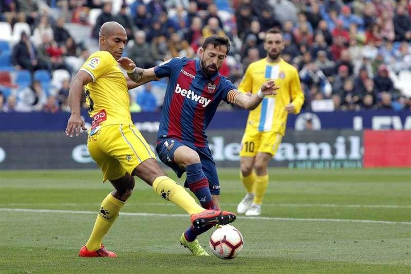 El jugador brasileño del RCD Espanyol Edinaldo Gomes