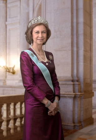 S. M. la Reina Doña Sofia. Foto casareal.es