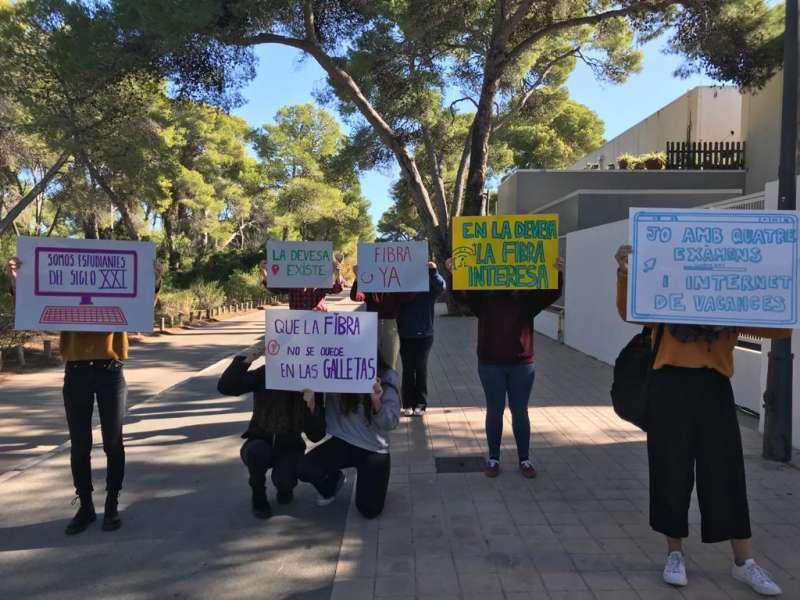 Protestas en La Devesa. EPDA