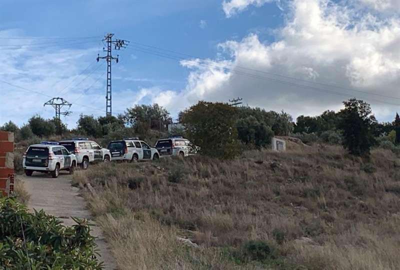 Imagen de una de las batidas anteriores de la Guardia Civil. EFE/ Raquel Segura
