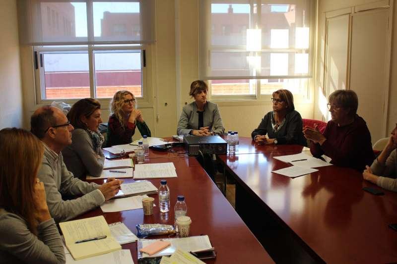 Instant de la reunió en Picassent