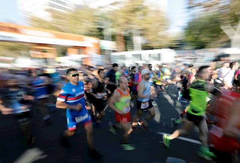 Corredores de la maratón de València. EFE/Archivo