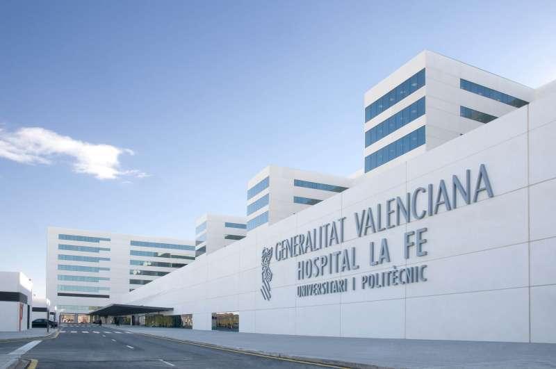Imagen de archivo del Hospital de La Fe de Valencia.