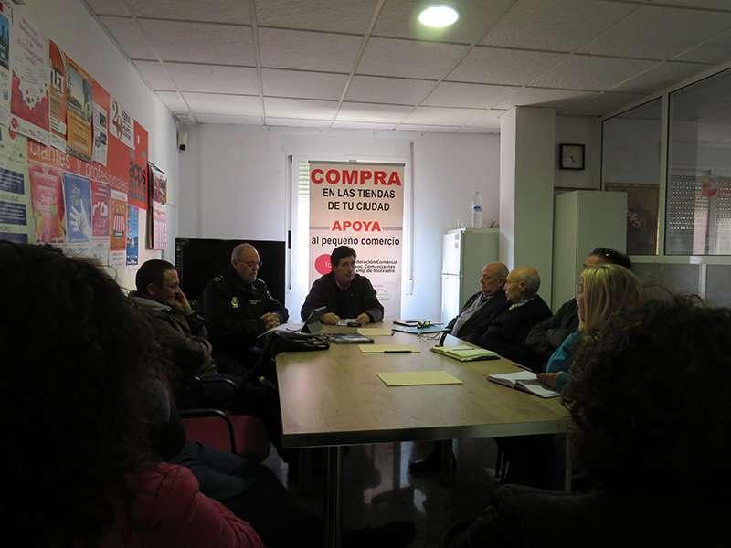 Reunión entre Facosa y la Policía Nacional. EPDA