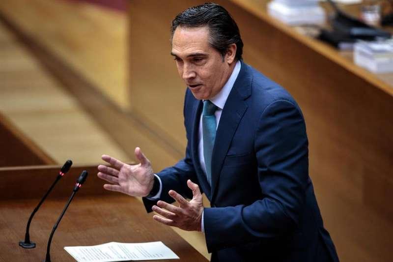 El portavoz de Economía del Grupo Parlamentario Popular en Les Corts, Rubén Ibáñez. EFE